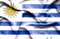 Uruguay waving flag - PhotoDune Item for Sale