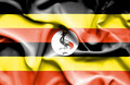 Uganda waving flag - PhotoDune Item for Sale