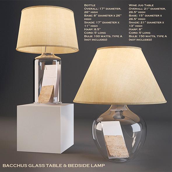 Bedside Lamp - 3DOcean Item for Sale