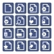 File Management Icons Set - GraphicRiver Item for Sale