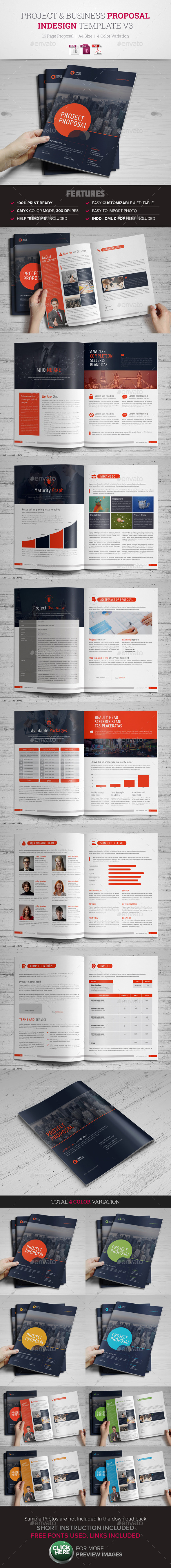 GraphicRiver Project & Business Proposal Template v3 10499199