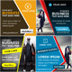 Bundle of 4 Business Ad Banners - GraphicRiver Item for Sale