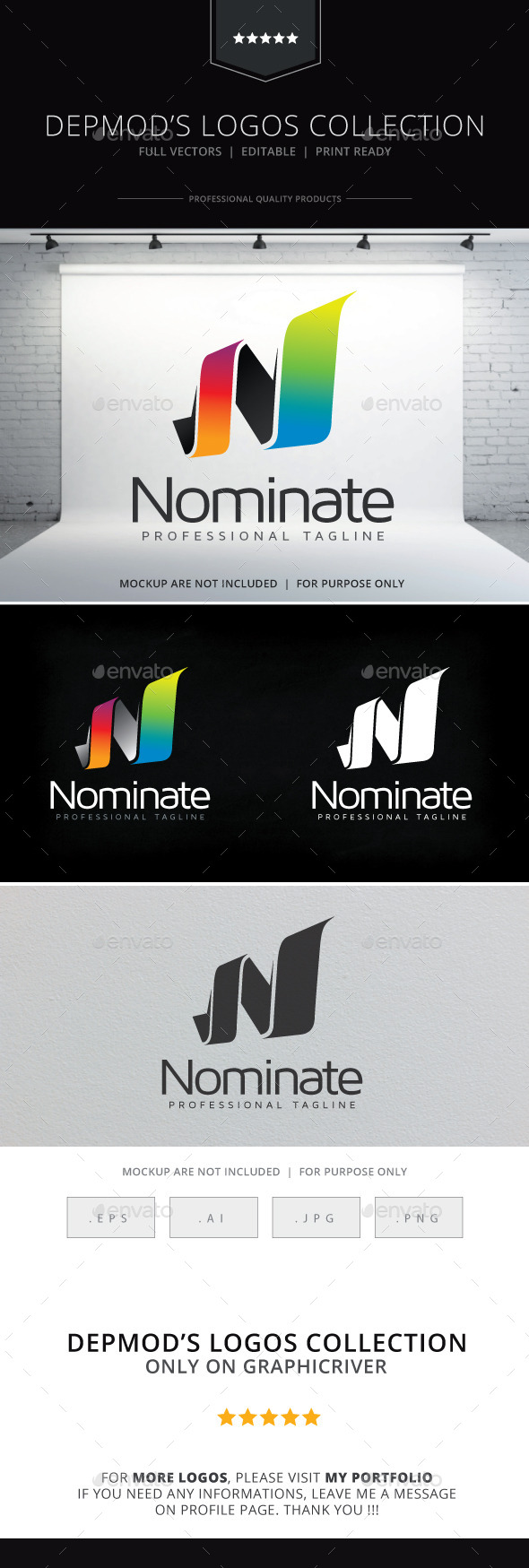 GraphicRiver Nominate Logo 10499584