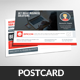 Marketing Business Postcard Template - GraphicRiver Item for Sale