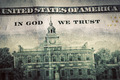 In God We Trust motto on One Hundred Dollars bill - PhotoDune Item for Sale