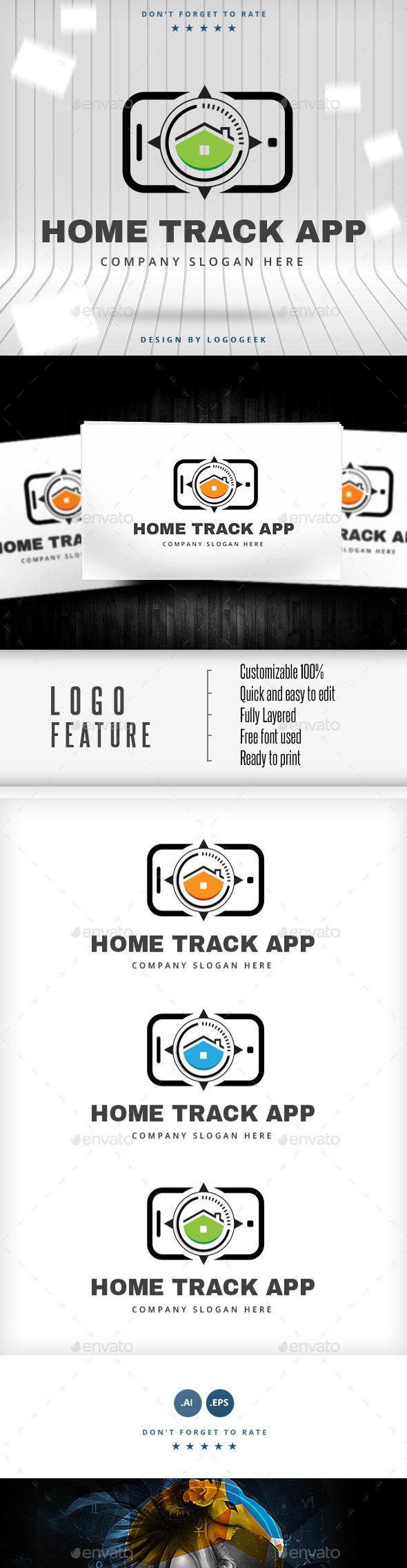 GraphicRiver Home Track Logo 10500099