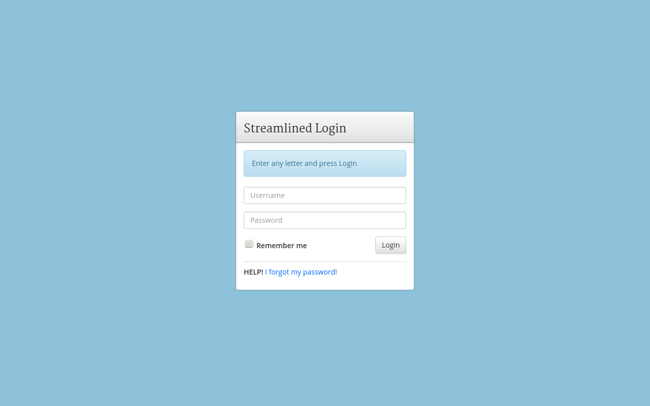 Streamlined - Content Management/CRM Template