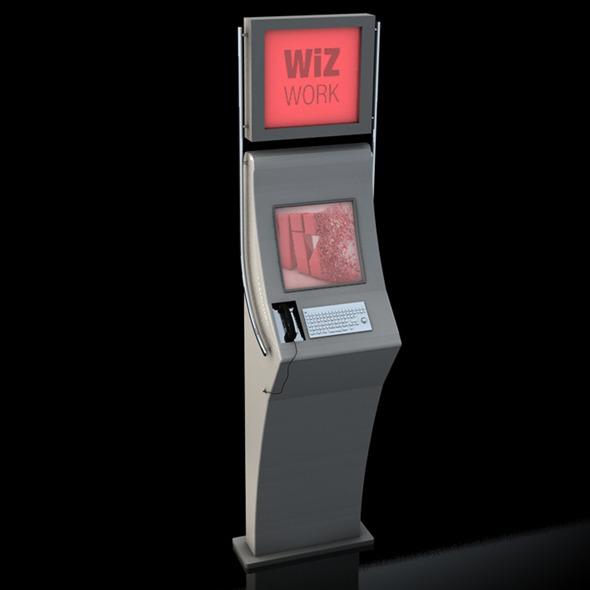 3DOcean Kiosk 10502074