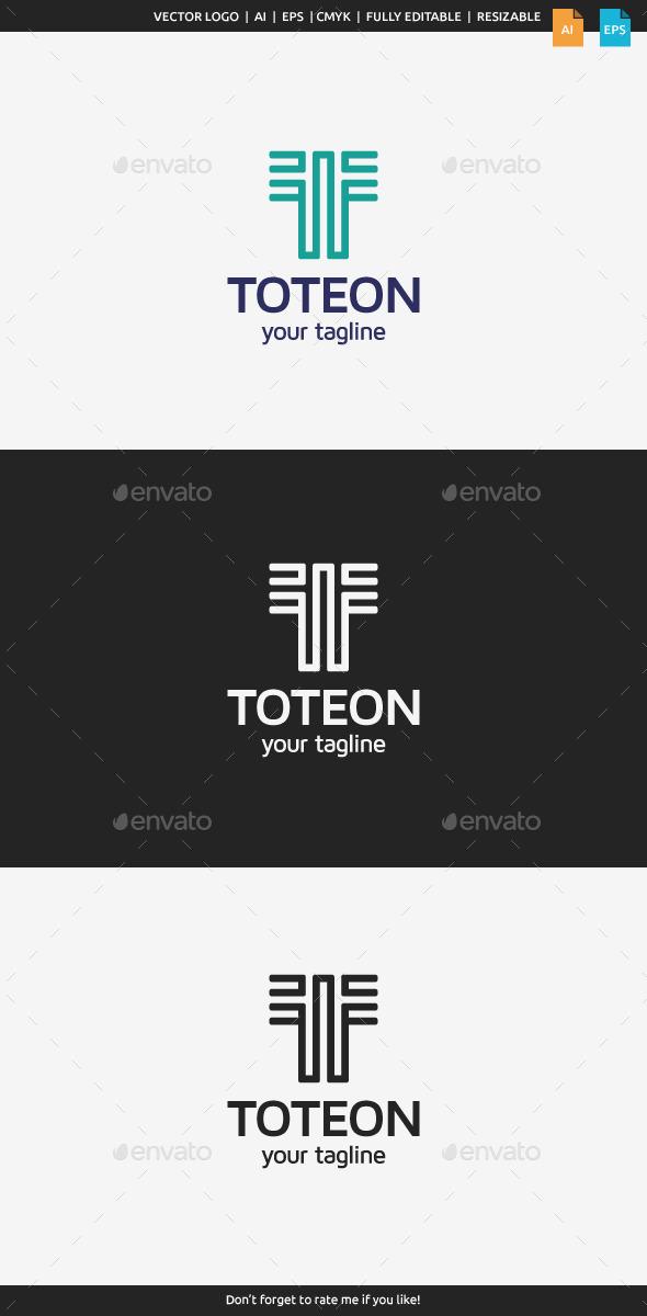 GraphicRiver Toteon Logo Letter T 10502192