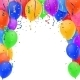 Celebration Background with Balloons - GraphicRiver Item for Sale