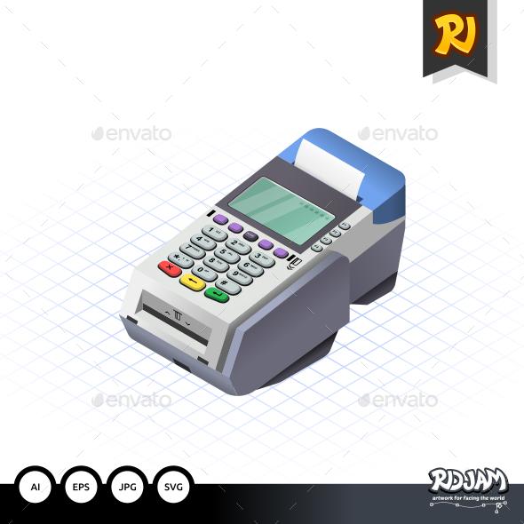 GraphicRiver Isometric Electronic Data Capture 10502318