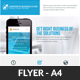 Corporate Business Responsive Flyer Template - GraphicRiver Item for Sale