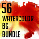 Watercolor Backgrounds Bundle - GraphicRiver Item for Sale