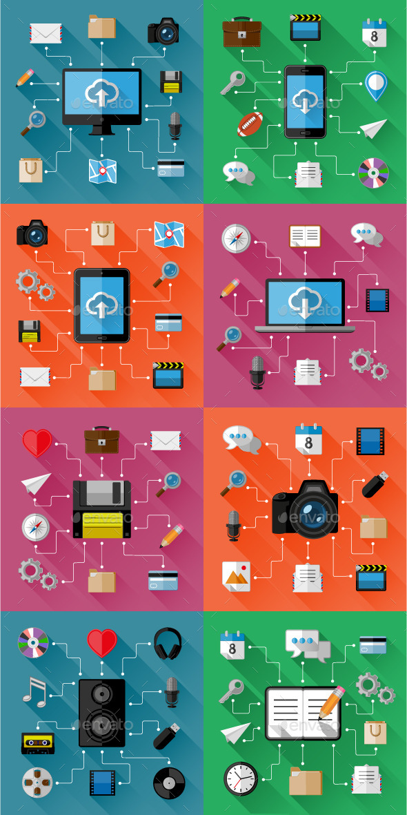 GraphicRiver Set of Web and Business Concepts 10503315