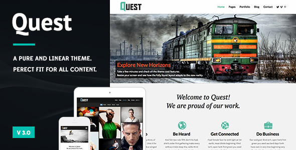 Quest - All Purpose Wordpress Theme