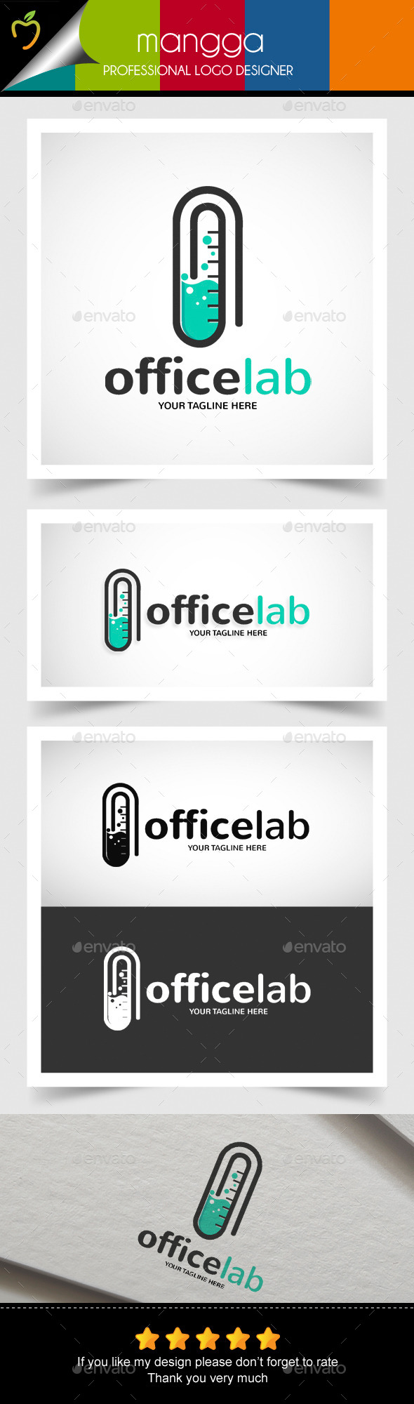 GraphicRiver Office Lab Logo 10503469