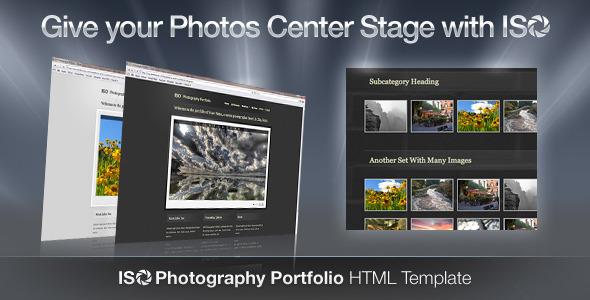 ISO Photography Portfolio - HTML