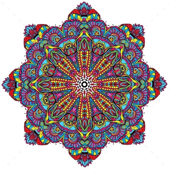 GraphicRiver Doodle Ornament 10503926