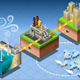 Isometric Infographic Offshore Windmill - GraphicRiver Item for Sale