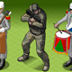 Isometric Foreign Legion Militar People - GraphicRiver Item for Sale
