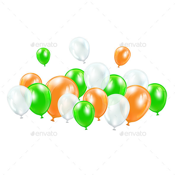 GraphicRiver Colorful Balloons 10504719