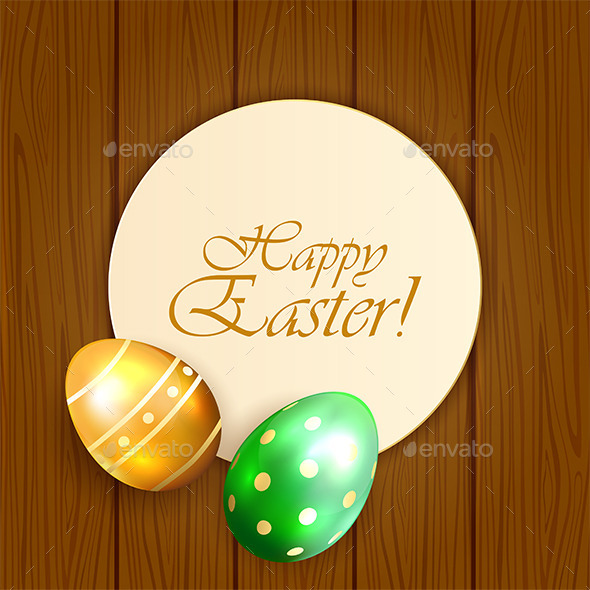 GraphicRiver Easter Card with Eggs 10505133
