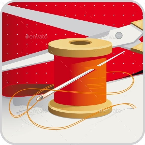 GraphicRiver Sewing Supplies 10505402