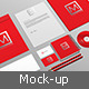 Branding-Stationery Mockup - GraphicRiver Item for Sale