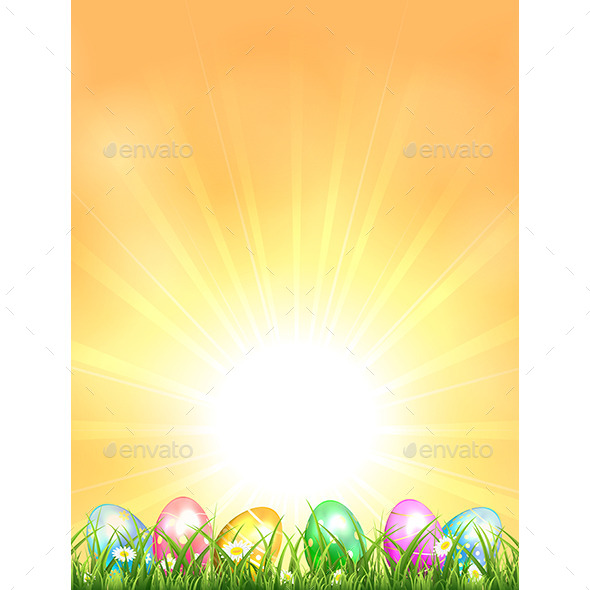 GraphicRiver Easter Background 10505870
