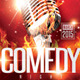 Comedy Night Flyer Template 3 - GraphicRiver Item for Sale