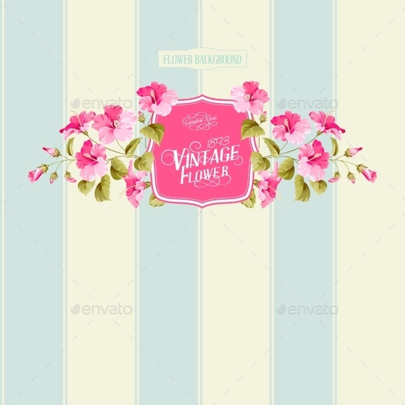 GraphicRiver Floral Background 10506098