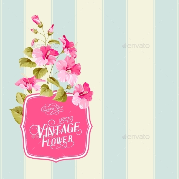 GraphicRiver Floral Background 10506100