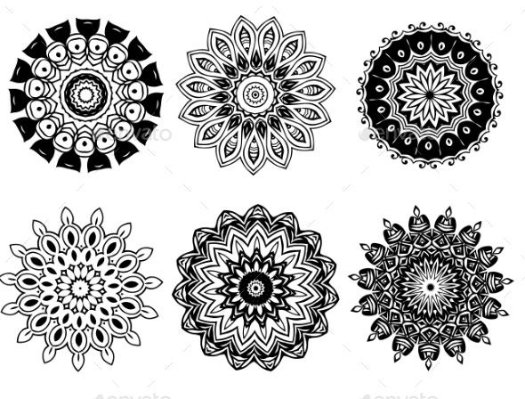 GraphicRiver Mandalas 10506693
