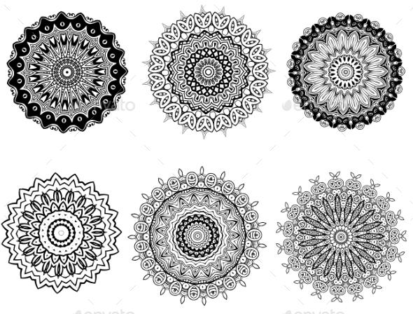 GraphicRiver Mandalas 10506709