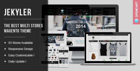 ThemeForest Jekyler Multipurpose Responsive OpenCart Themes 10439146