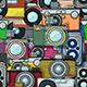 Vintage Camera Pattern - GraphicRiver Item for Sale