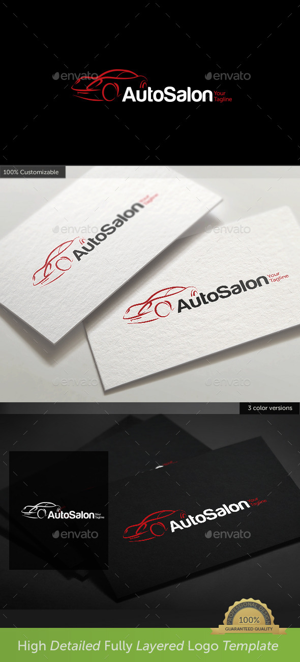 GraphicRiver Car Auto Salon Logo 10506994