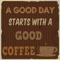 A good day starts with a good coffee - PhotoDune Item for Sale