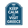 Keep calm and visit Greece stamp - PhotoDune Item for Sale