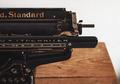 Standard Typewriter - PhotoDune Item for Sale