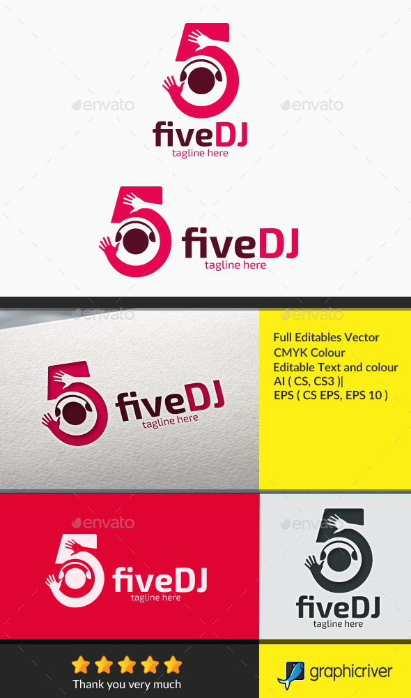 GraphicRiver fiveDJ 10507325