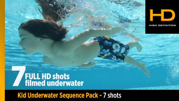 Underwater Kid Pack 7 Clips