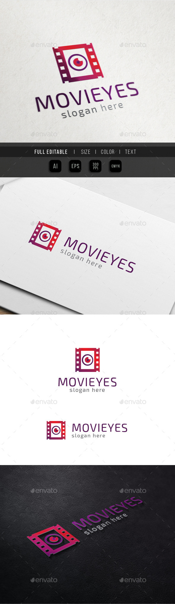 GraphicRiver Movie Vision Eye Media Filmography 10507634