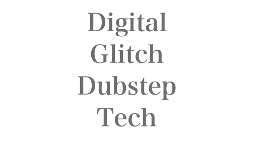 Digital-Glitch-Dubstep-Tech