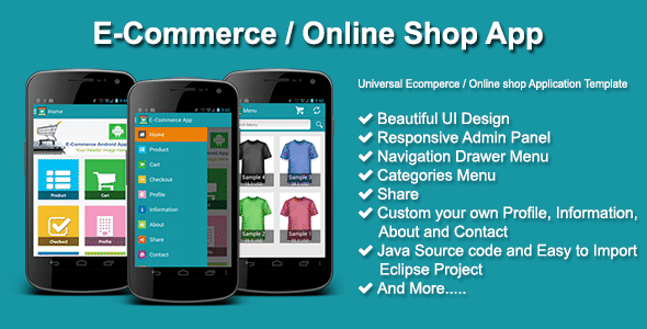 CodeCanyon E-Commerce Online Shop App 10442576