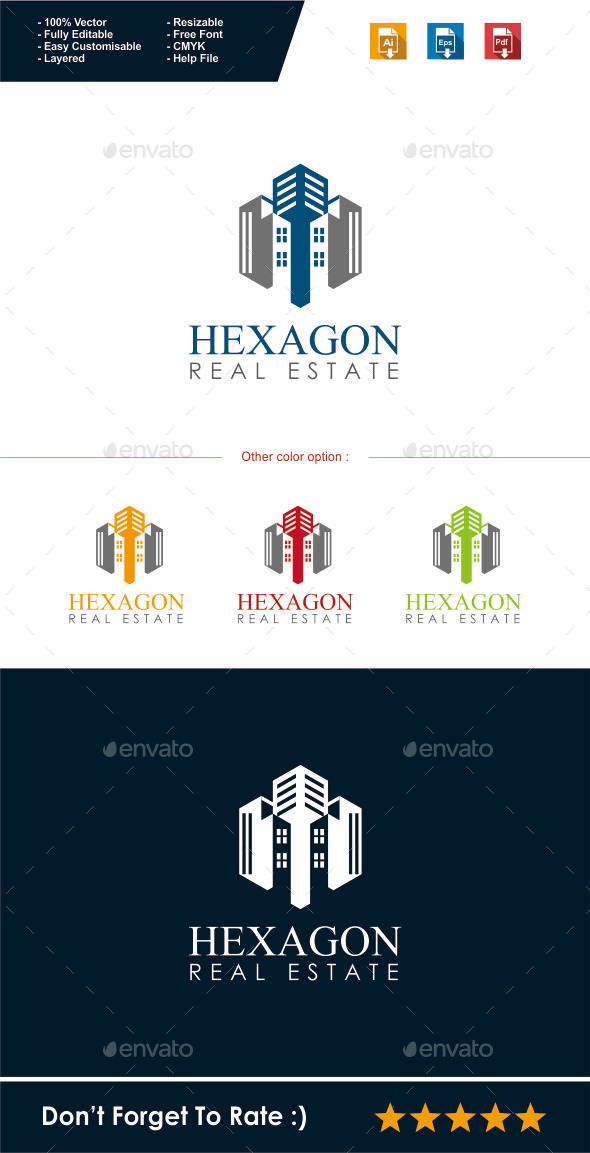 GraphicRiver Real Estate Logo 10508011