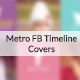 Metro FB Timeline Covers - GraphicRiver Item for Sale