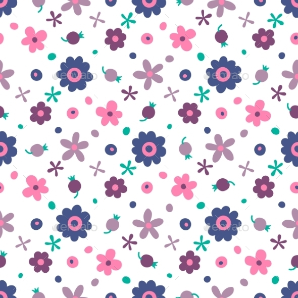 GraphicRiver Flower Pattern 10508311