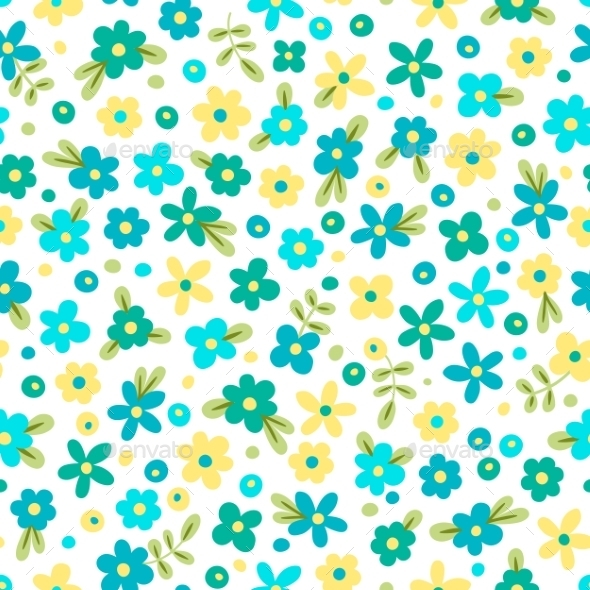 GraphicRiver Flower Pattern 10508315