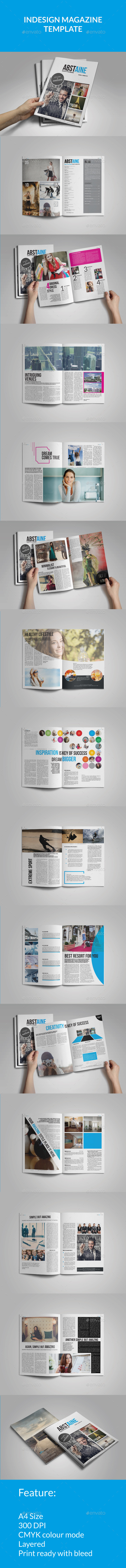 GraphicRiver Absulute Stylish Magazine Template 10508491
